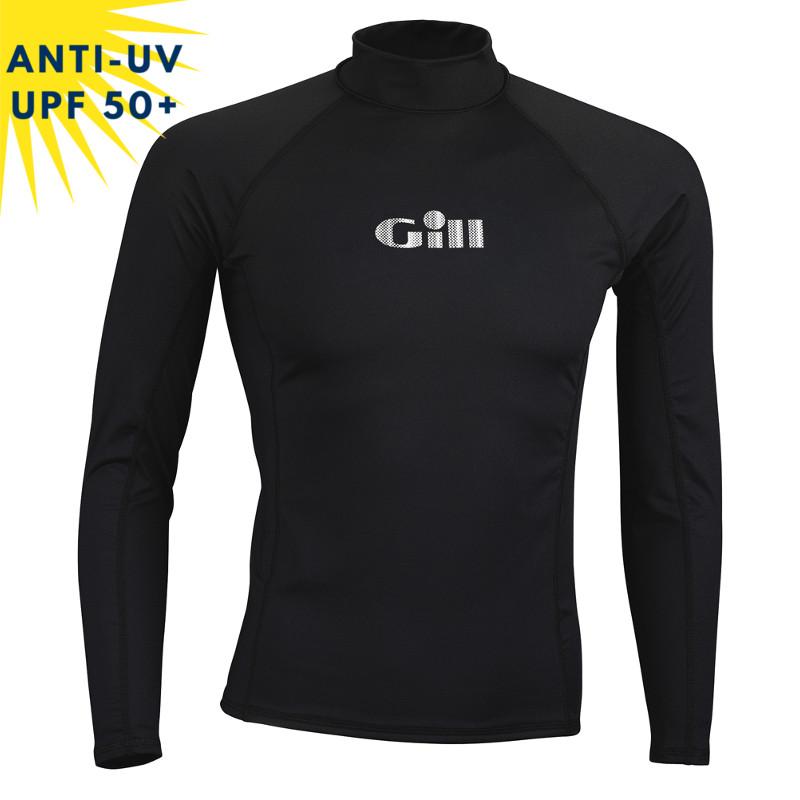 T-shirt de bain anti-uv Enfant - Noir | UPF50+