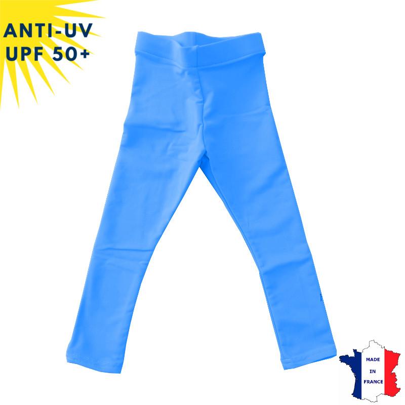 Legging anti-uv Enfant - Bleu | UPF50+