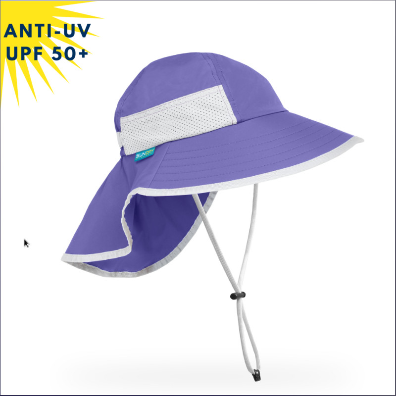 Chapeau anti-uv KID PLAY HAT - Iris | UPF50+