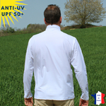 T-shirt anti-uv homme manches longues col zippé maco maga vetement anti-uvT-shirt-anti-uv-homme-tee-shirt-anti-uv-macomaga-vetement-anti-uv-homme