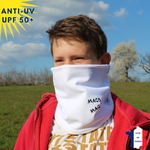 Tour de cou hiver doublé polaire anti-uv femme homme enfant MACO MAGA-vetement-anti-uv-homme-femme-enfant