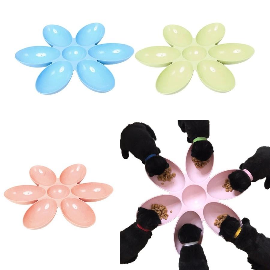 Multi gamelle fleur 6 en 1