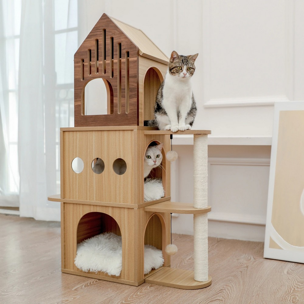 Arbre à chat Bastion 112 cm