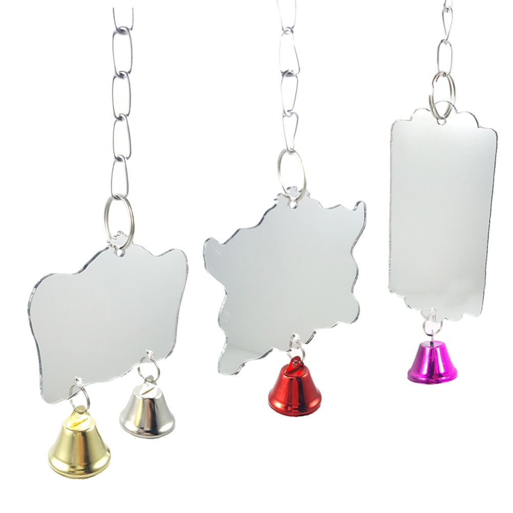 Miroir-oiseau-cage-Miroir-clochette-oiseau-Miroir-oiseau-Miroir-pour-cage