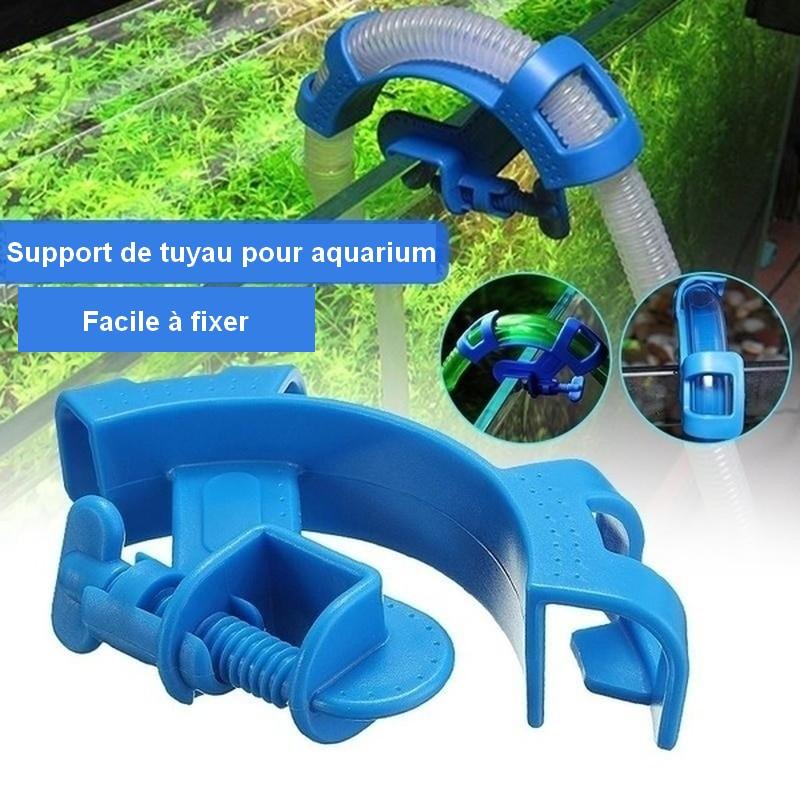 Support tuyau filtration