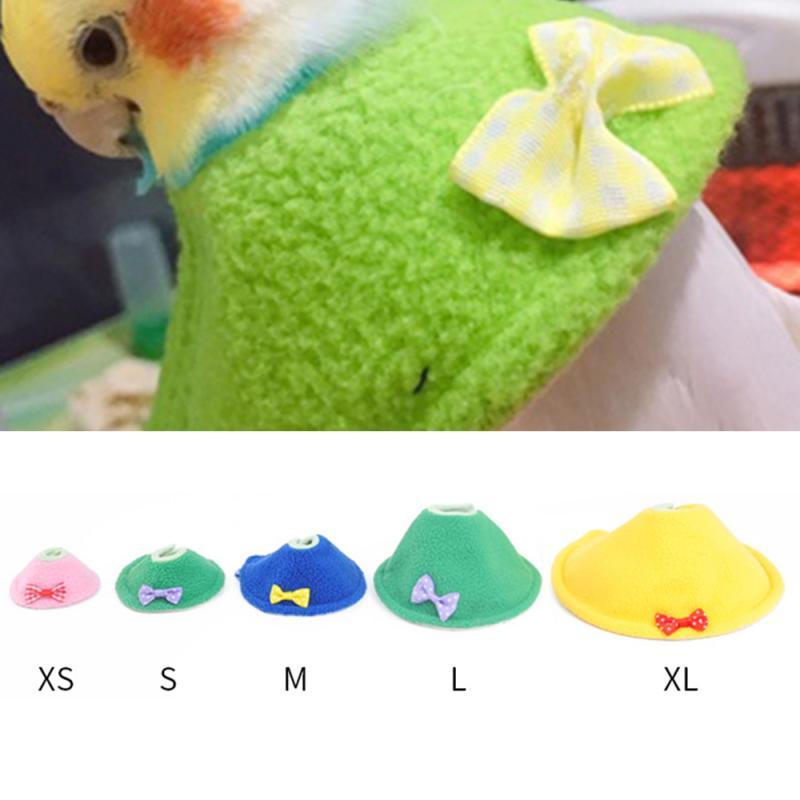 Solution-anti-picage-oiseau-Minerve-pour-perroquet-Anti-picage-oiseaux-Collerette-anti-morsures-oiseaux