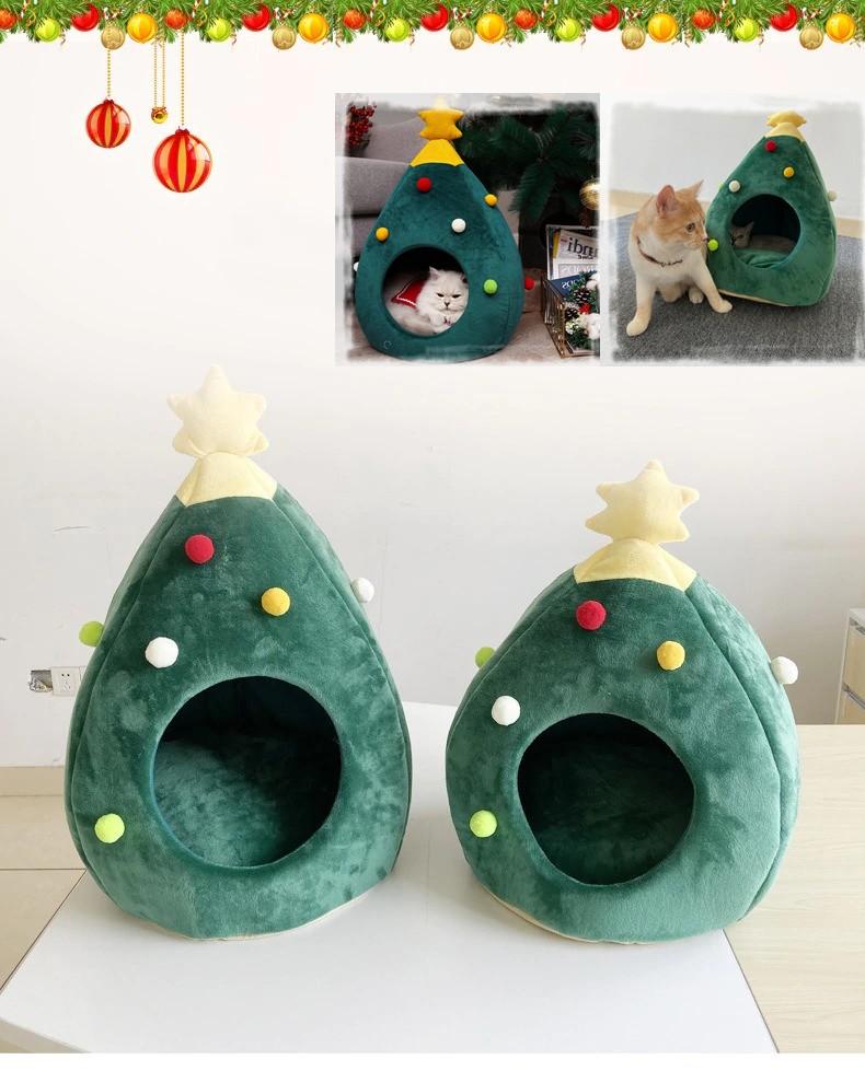 Maison sapin de Noël