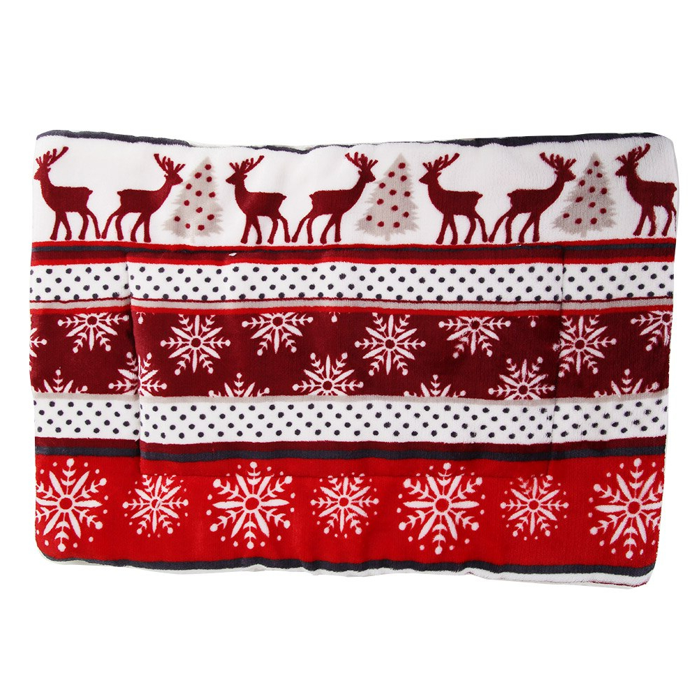 Coussin flanelle