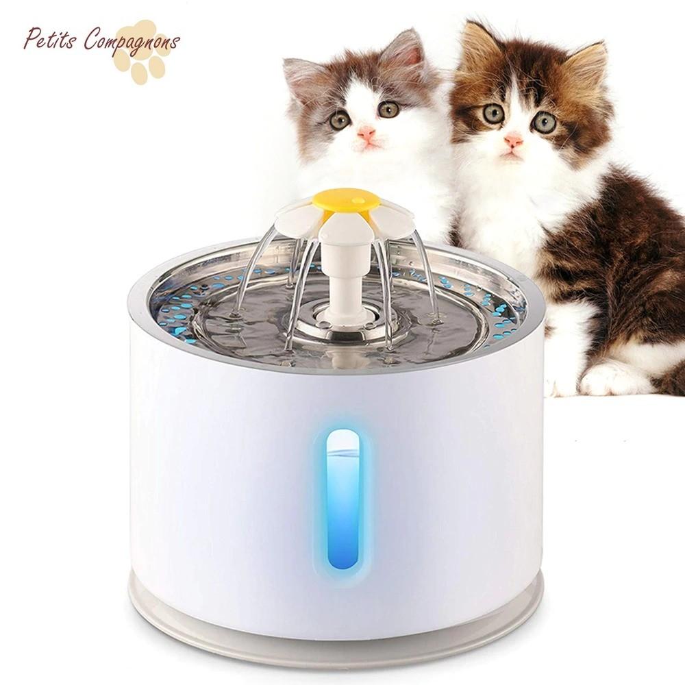 Fontaine-a-eau-fleur-Fontaine-a-eau-pour-chat-Fontaine-a-eau-automatique-chat-Distributeur-d-eau-pour-chat