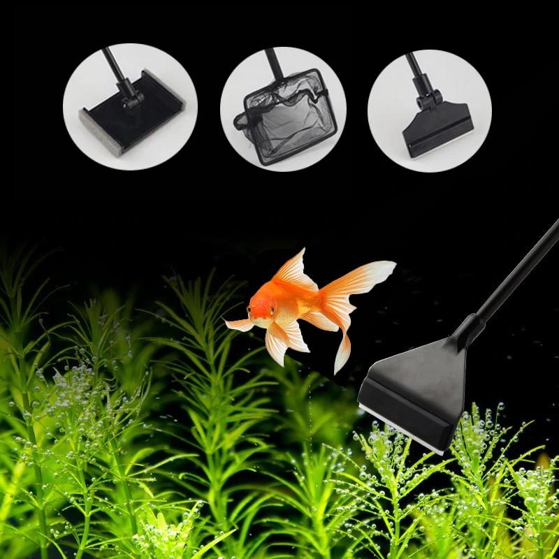 Raclette-3-en-1-aquarium-Raclette-vitre-aquarium-Kit-de-nettoyage-aquarium-Nettoyage-facile-aquarium