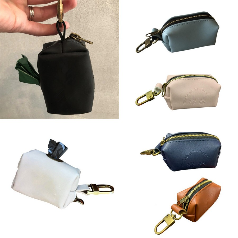 Pochette sac à crotte design