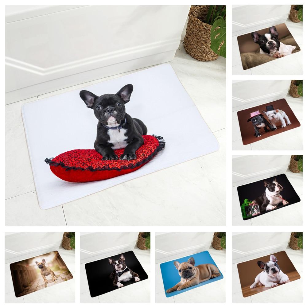 Tapis-de-sol-chien-Race-chien-paillasson-Tapis-d-interieur-chien-Tapis-imprime-chien-Tapis-bouledogue-francais