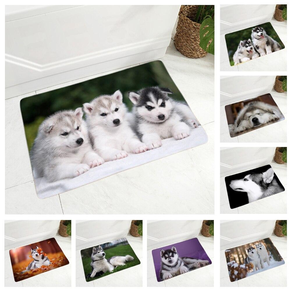 Tapis-de-sol-chien-Race-chien-paillasson-Tapis-d-interieur-chien-Tapis-imprime-chien-Tapis-husky