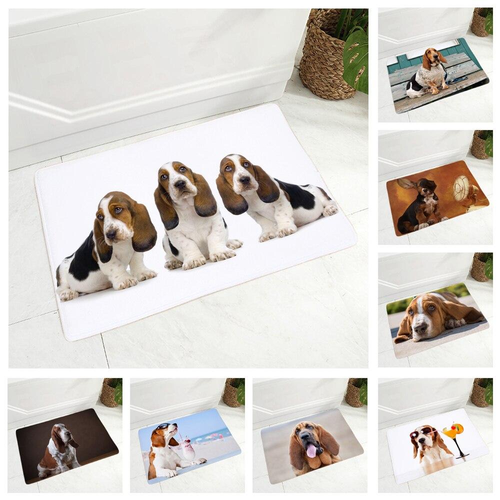 Tapis-de-sol-chien-Race-chien-paillasson-Tapis-d-interieur-chien-Tapis-imprime-chien-Tapis-basset