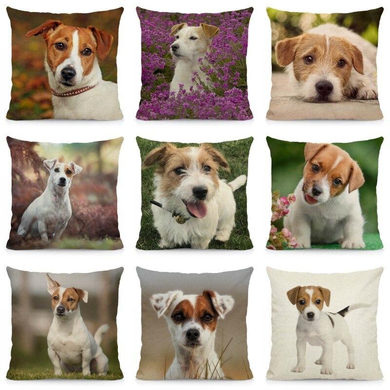 Coussin-chien-Housse-coussin-chien-Coussin-jack-russell-Coussin-motif-chien-Coussin-jack-russell-terrier