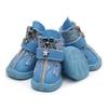 Boots-pour-chien-Bottes-chic-pour-chien-Chaussures-tendance-chien