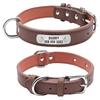 Collier-pour-chien-en-cuir-Collier-d-identification-pour-animaux-de-compagnie-Collier-plaque-gravée-Collier-personnalisé-pour-chien