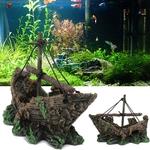 Epave-bateau-aquarium-Bateau-aquarium-Decoration-aquarium-bateau