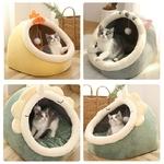 Niche-jouet-chat-Panier-chat-Couchage-ludique-chat-Lit-douillet-pour-chat-Niche-design-chien
