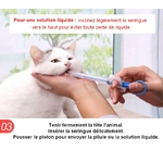 Seringue-à-médicaments- chien-chat-Lance-pilules-animal-de-compagnie