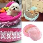 Lit-royal-pour-chien-Lit-princesse-pour-chat-Couchage-luxe-pour-chat