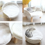 Fauteuil-luxe-pour-chat-Sofa-chat-Canape-lit-pour-chat