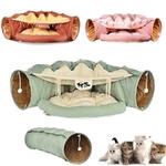 Lit-tunnel-chat-Panier-jeux-pour-chat-Hamac-chat-Lit-multifonctions-pour-chat