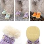 Boots-pour-chien-Bottes-chic-pour-chien-Chaussures-tendance-chien-Bottes-fourrees-chien