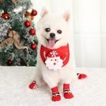 Chaussettes-noel-chien-Vetement-noel-pour-chien-Chaussette-motif-noel-pour-chien