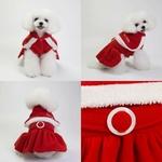 Uniforme-noel-pour-animaux-Costume-pere-noel-chien-Robe-mere-noel-pour-chienne-Deguisement-noel-pour-chat