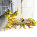 Cannoli-a-picorer-pour-oiseaux-Jouet-a-picorer-oiseau-Suspension-cage-oiseaux