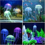 Meduse-aquarium-Decoration-fluo-aquarium-Decoration-lumineuse-aquarium