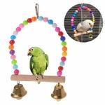 Balancoire-oiseau-Jouet-perruche-Balancoire-pour-perroquet-Jouet-oiseaux