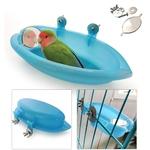 Baignoire-pour-oiseaux-Baignoire-miroir-pour-oiseau-Accessoires-cage-oiseaux
