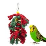 Jouet-noel-pour-oiseau-Cadeau-noel-pour-oiseau-Suspension-noel-pour-oiseau-Jouet-noel-pour-perruche-Jouet-noel-pour-perroquet