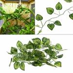 Decoration-terrarium-plante-Cachette-reptile-plante-Cachette-pour-reptile-Decoration-terrarium-serpent-Lierre-aquarium