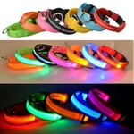Collier-lumineux-pour-chien-chat-USB-Collier-de-securite-chiens-chats-Collier-LED-Collier-nocturne-Collier-reglable-Collier-etanche