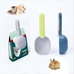 Cuillere-multifonctions-croquettes-Cuillere-doseur-croquettes-Cuillere-aliments-animaux-Pince-sac-croquettes