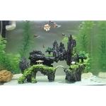 Decoration-feng-shui-aquarium-Décoration-aquarium-japonais-Aquarium-zen-attitude-Montagne-zen-aquarium