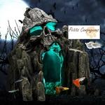 Decoration-halloween-aquarium-Decoration-aquarium-crane-Decoration-aquarium-tete-de-mort-Rocher-crane