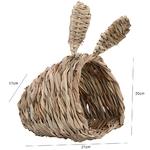 Abri-naturel-pour-rongeur-Couchage-paille-pour-lapin-Couchage-paille-rongeur-Nid-pour-rongeur