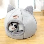 Niche-oreilles-chat-Panier-chat-Couchage-design-chat-Lit-douillet-pour-chat