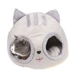 Niche-tete-chat-Niche-pliable-pour-chat-Panier-chat-Couchage-insolite-chat-Lit-douillet-pour-chat-Niche-originale-pour-chat