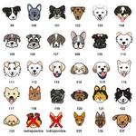 Medaille-gravee-pour-chien-Medaille-personnalisee-chien-Medaille-tete-chien-Medaille-pour-chien