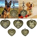 Medaille-gravee-pour-chien-Medaille-personnalisee-chien-Medaille-coeur-chien-Medaille-pour-chien