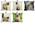 Coussin-chat-Housse-coussin-chat-Coussin-siamois-Coussin-chat-siamois-Coussin-motif-chat