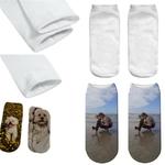 Chaussettes-courtes-personnalisees-Socquette-personnalisée-Chaussettes-imprimees-photo-Chaussettes-sans-talon-personnalisees