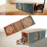 Tunnel-pliable-pour-chat-Tunnel-pour-chat-Tunnel-de-jeu-pour-chat-Tunnel-carton-chat