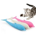 Jouet-chat-en-Silicone-poisson-Chat-jouet-d-animal-de-compagnie-dents-propres-brosse-a-dents-jouet-a-macher-hygiene-dentaire