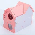 Aire-jeux-hamster-Maison-pour-hamster-Cabane-pour-hamster-Habitat-rongeurs-Maison-pour-souris